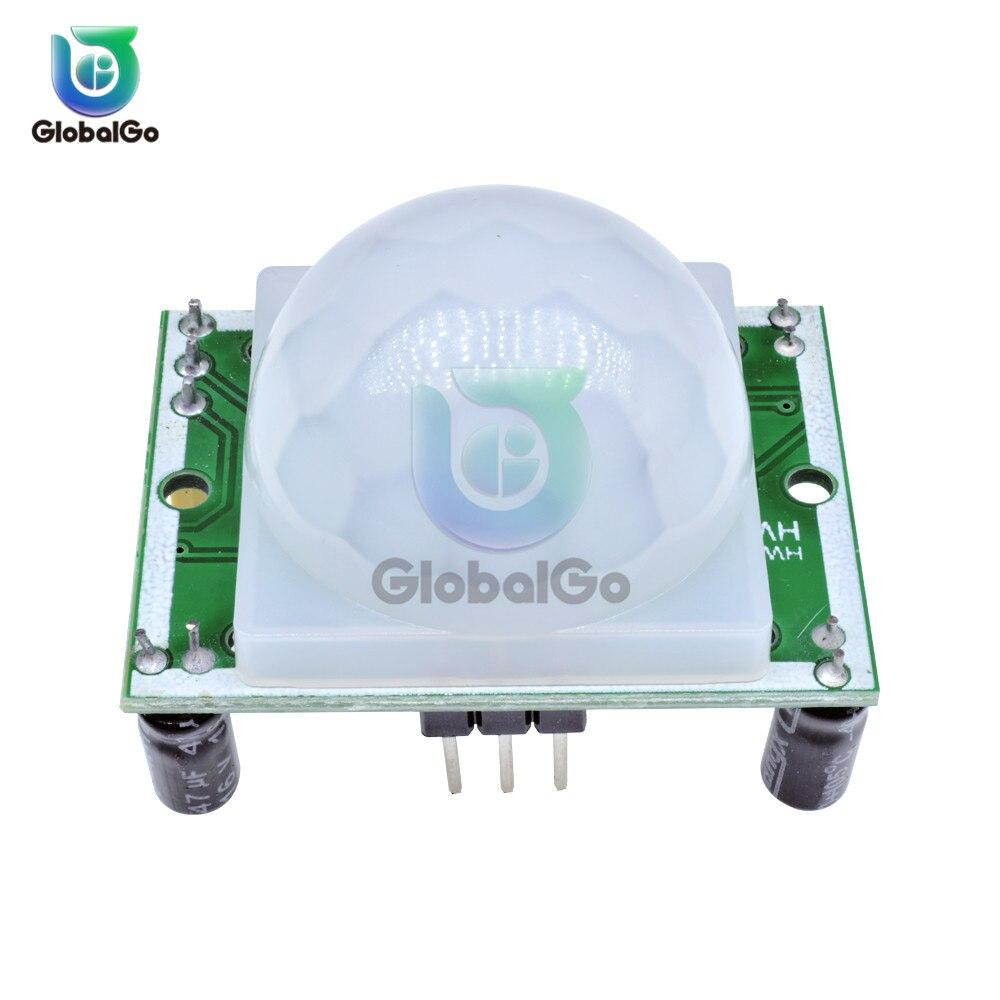 AM312 HC-SR501 HC-SR505 Einstellen IR Pyroelektrische Infrarot Mini PIR Module Motion Sensor Detektor Modul Halterung für arduino