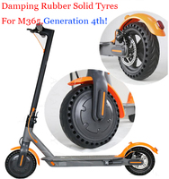 Durable Solid Tyre Non Pneumatic Damping Tires For Xiaomi Mijia M365 Electric Scooter Skateboard Anti Slip