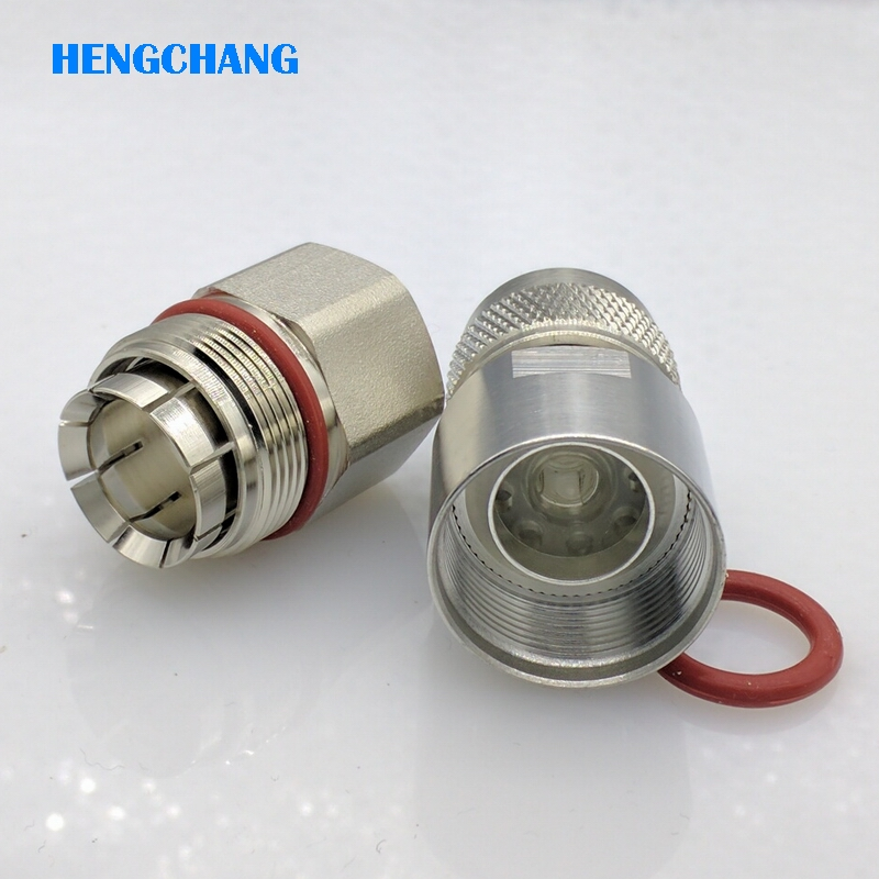 US $2 99 |NJ 1/2 Coaxial cable connector feeder cable connector 50 12 cable  N type Male connector 1PCS-in Connectors from Lights & Lighting on