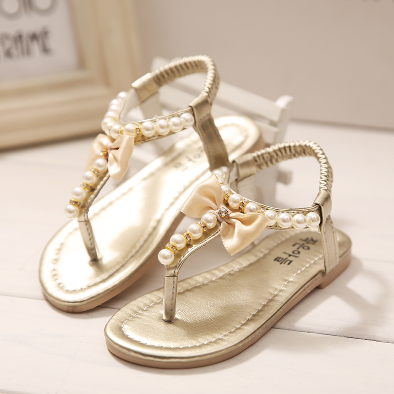 931d8ed9126 2015 summer new Korean girls sandals princess shoes sandals slippers pearl  thong sandals baby shoes tide-in Sandals from Mother   Kids on  Aliexpress.com ...