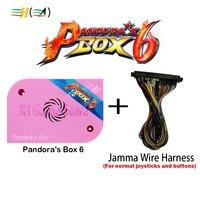 Original Pandora box 6 1300 in 1 jamma arcade machine arcade cabinet CRT CGA VGA HDMI support fba mame ps1 game 3d tekken pacman