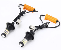 1156 BA15S S25 BAU15S PY21W T20 7440 3156 Canbus Error Free Dual Color Amber White DRL