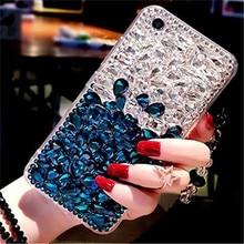 1 шт. Роскошный Бант со стразами Bling диаманта ясно телефон чехол для BlackBerry DTEK60 KEYone DTEK70 Криптон движения