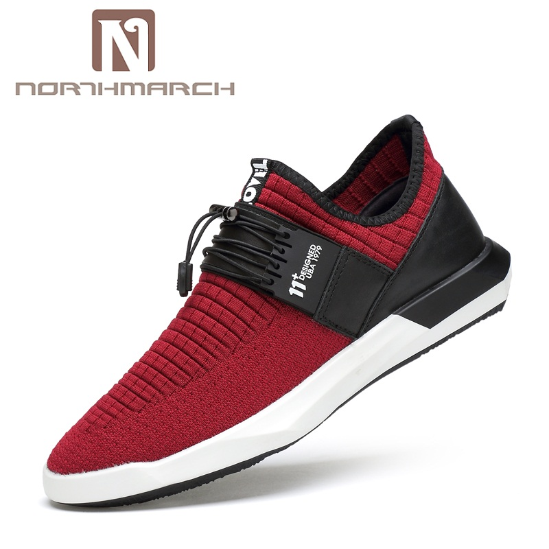 NORTHMARCH Hot Sale Brand Men Shoes Lightweight Sneakers Breathable Slip On Casual Shoes Men Tenis Masculino Adulto Zapatillas