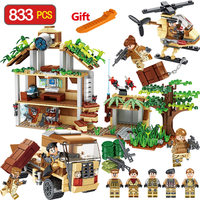 Special Troops Operational Command LegoINGLY Military Series Blocks Building Bricks Enlightening Fun for Children Gift