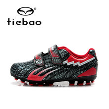 Tiebao Professional Outdoor Soccer Shoes Children Kids Teenagers Shoes Sneakers Teenagers FG TPU Sole Training Football Boots