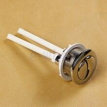 1X Туалет Замена цистерны Туалет кнопка двойной флеш DIY инструмент для ремонта HG2540