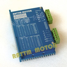 RTM5740 50VDC 4A 128 microstep CNC stepper motor driver from RATTM MOTOR