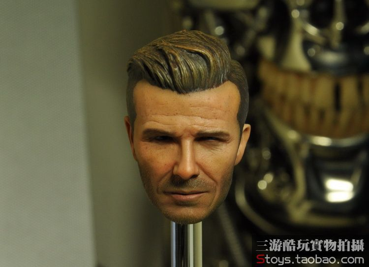 Doll head 1/6 scale David Beckham head for figure.12 Action figure doll accessories,sell only head.No Clothes and body
