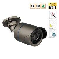 AHD 720P 1200TVL Bullet CCTV Camera 1280 720 1 0MP Waterproof IR Cut Night Vision Camera