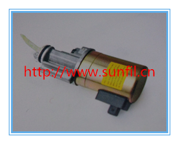 Wholesale  1012 Fuel Shutdown Solenoid Valve 0419 9905 04199905 Diesel Engine Parts FREE FAST SHIPPING fast free shipping fuel shutdown solenoid 1751es 12a3uc12b1s hyundai excavator r60 5 for yanmar engine