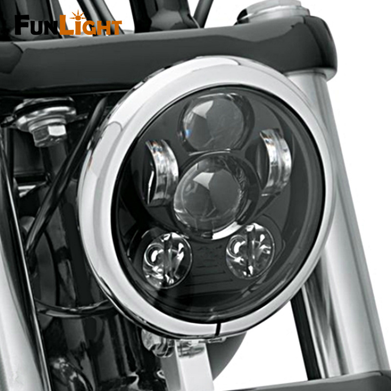 5 75 Inch Led Daymaker Projector Headlight Motorcycle