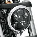 5.75 Polegada levou Daymaker Projetor Farol Da Motocicleta de Condução Faróis de Led para Harley Davidson Sportster FXSB Personalizado XL1200C