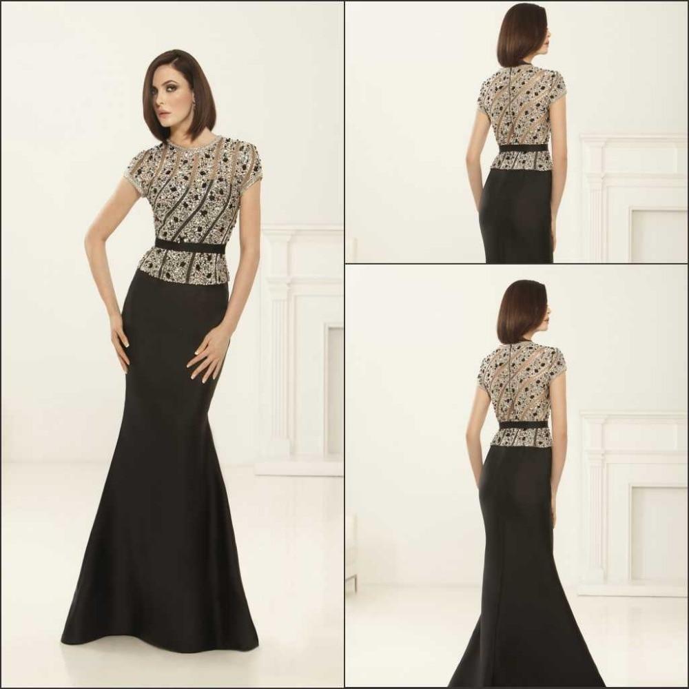 Aliexpress Com Buy New Design Simple But Elegant Short: Elegant Style 2016 New Design Black Long Evening Dress