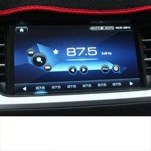 lsrtw2017 font b car b font dashboard GPS navigation screen anti scratch Tempered film for haval