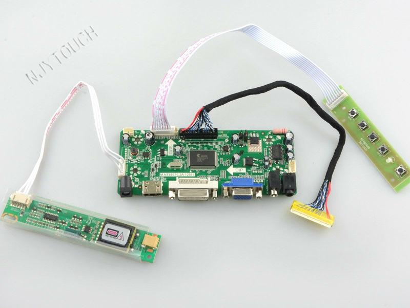 M NT68676 2A HDMI DVI VGA AUDIO LCD Controller Board for 1280x800 LTN141W1 LTN141W2 L02 LTN141W3