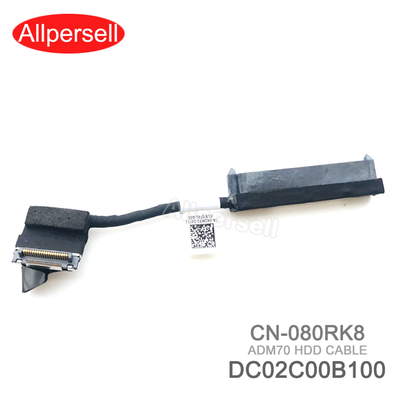 SATA <font><b>Hard</b></font> Disk <font><b>Drive</b></font> Connector For <font><b>DELL</b></font> Latitude <font><b>E5470</b></font> ADM70 HDD CABLE 080RK8 DC02C00B100 image
