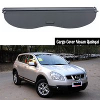 Rear Cargo Cover For Nissan Qashqai 2008 2009 2012 2013 2014 2015 privacy Trunk Screen Security Shield shade Auto Accessories