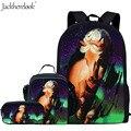 Комплект школьных сумок Crazy Horse для мальчиков  детский школьный рюкзак первоклассника  детские сумки для книг с животными  сумка для школы  с...