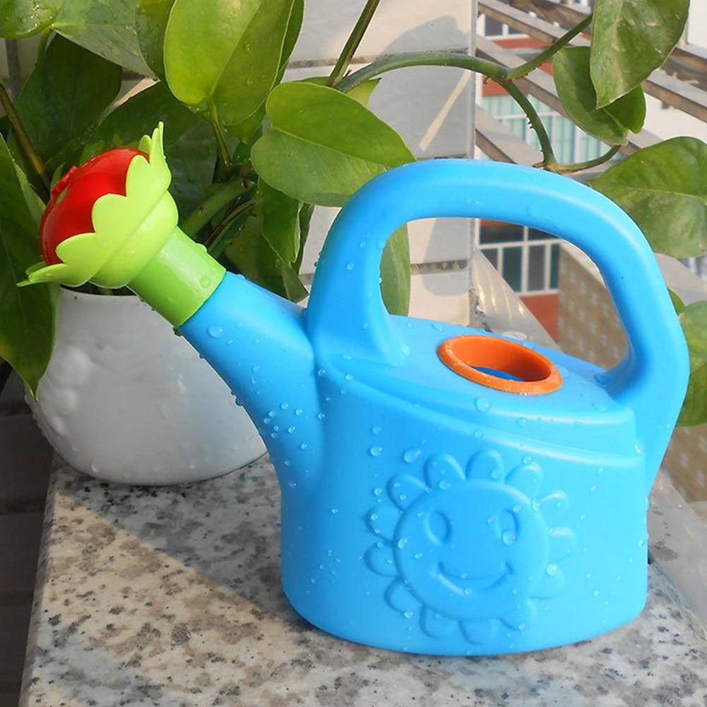 Sprinkler Watering Can Cute Cartoon Garden Kids Home Plastic Flowers Bottle Beach Spray Bath Toy Early Education #25