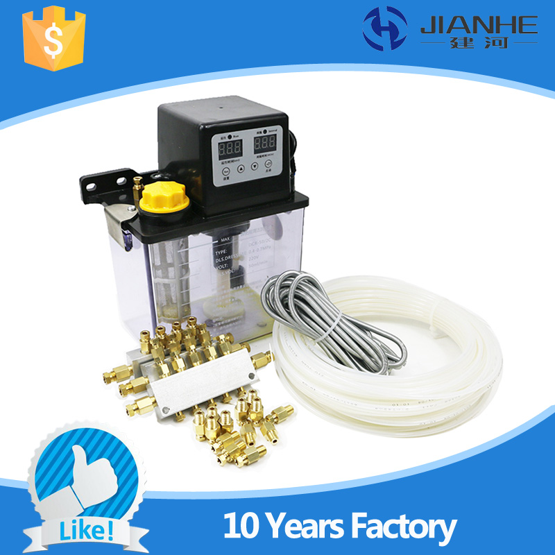 Full set central lubrication system with 13 Lubrication point 2L Automatic Lubrication Pump For CNC Machine full set 1 5l fully automatic lubrication pump 220v single screen oil lubrication pump for cnc router