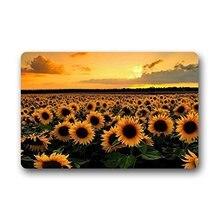 memory home door mats sunshine sunflower indoor nonslip front door entrance doormat bath kitchen decor rug carpets