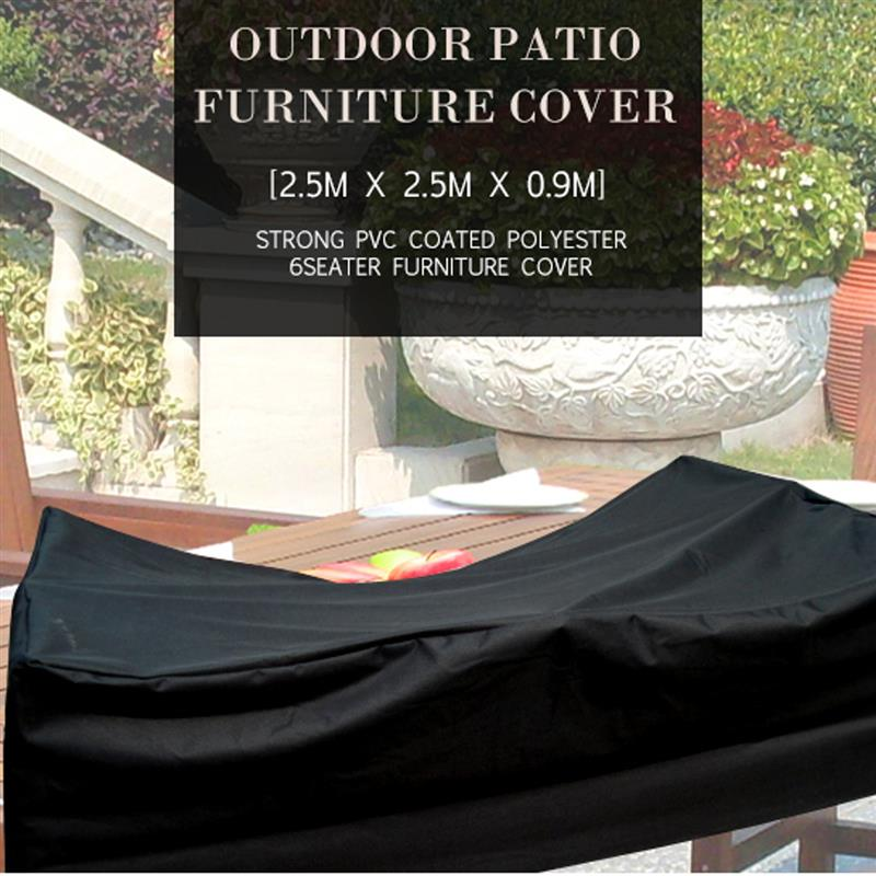 Furniture Dust Cover Fabric: Outdoor Patio Dust Cover Oxford Cloth Furniture Cover