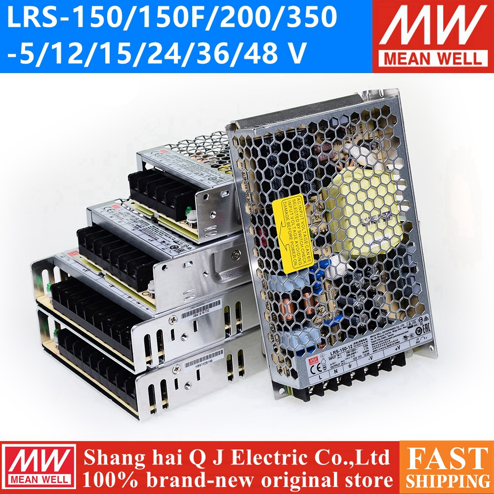 MEAN WELL LRS 350 12 5V 12V 15V 36V 48V meanwell LRS 350 5V 12V 15V 24V 36V 48V Single Output Switching Power Supply
