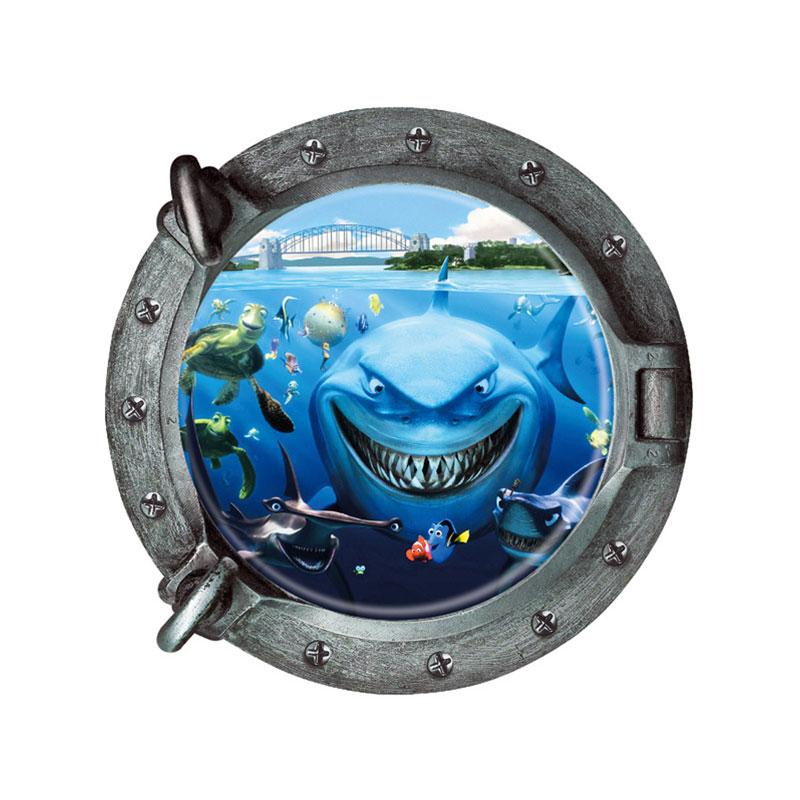 ③creative Home Decor 3d Wall ᐂ Sticker Sticker Submarine