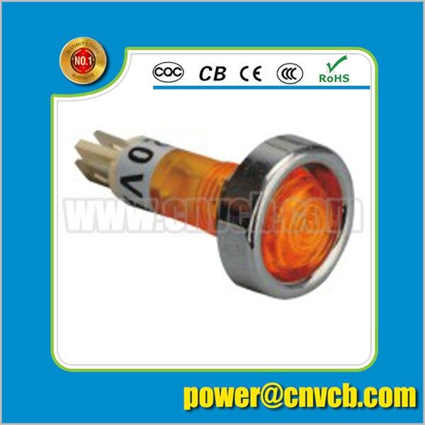 ZS62 metal ring 6v 12v pilot light 12mm Dia indicator light 12v pilot light