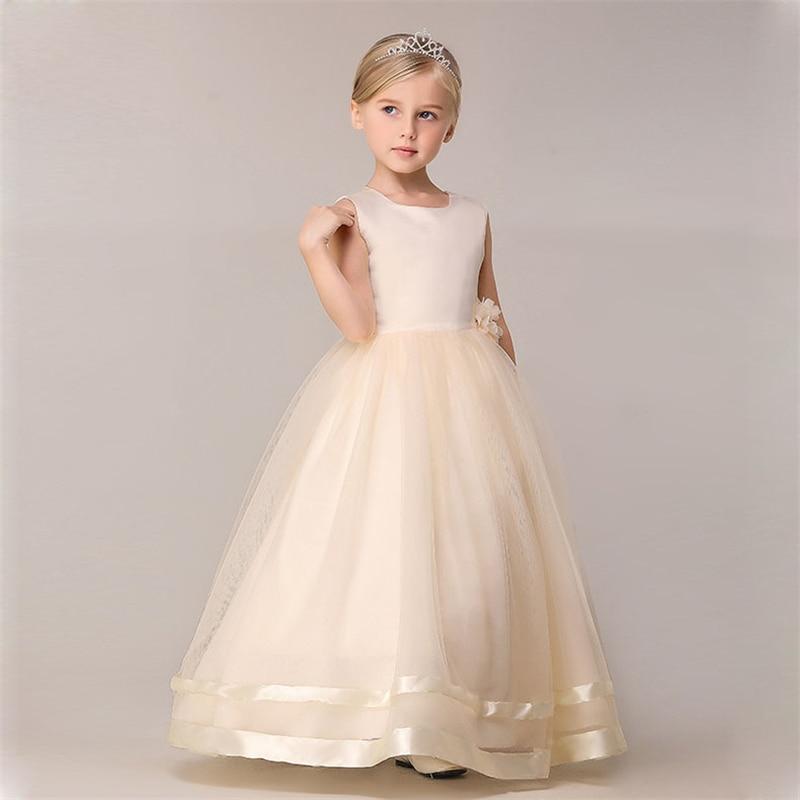 Új 2017 tavaszi lányok hercegnő estélyi ruhák lány Quinceanera - Gyermekruházat