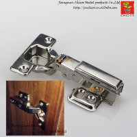 Door Hinge Stainless Steel 304 Full Overlay Furniture Hinge Conceal Adjustable Hinge Kitchen Cabinet Door Hinges