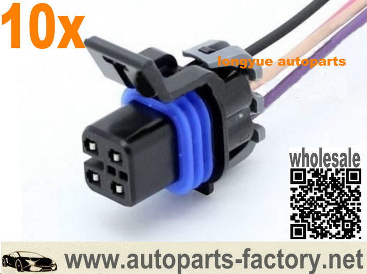 longyue 10pcs 4 way LS1 OXYGEN O2 SENSOR CONNECTOR PIGTAIL Fuel Pump connector Wiring Harness NEW longyue 10pcs 4 way ls1 oxygen o2 sensor connector pigtail fuel Creating a Wire Harness at bayanpartner.co
