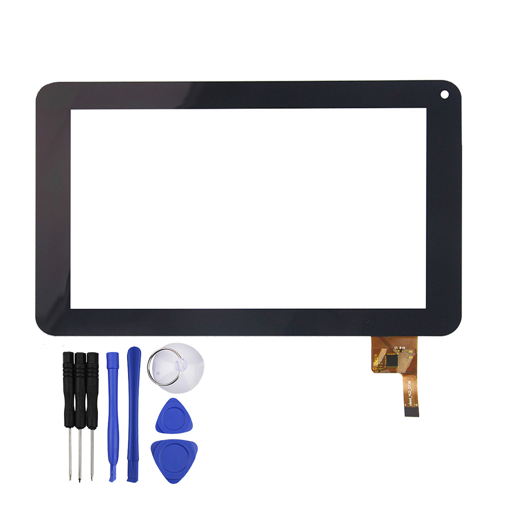 New 7 Inch Black Capacitive for Touch Screen Mach Speed Trio Stealth G2 silead_HLD_0726 Free Shipping
