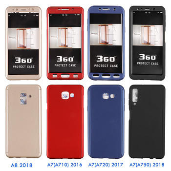 360 Full Cover Phone Case For Samsung Galaxy J5 J7 A3 A5 2016 A6 A8 2018 Case For Samsung A5 A7 2017 Protective Shell Case Cover 1