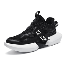Mesh Men Casual Shoes Lace-up Sport Outdoor Running Lightweight Comfortable Breathable Walking Sneakers недорого