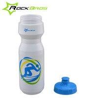 ROCKBROS Bicycle Water Bottle MTB Cycling Sport Bike Portable Kettle Water Bottle Plastic Sports Mountain Bike
