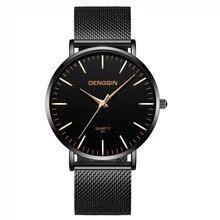 00eee3bfb03 Militar homens Moda Aço Inoxidável Analógico Data Esporte Quartz Relógio de  Pulso Relogio masculino de luxo · 4 Cores Disponíveis