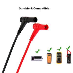 Image 4 - Vastar 110cm Universal Multimeter Probe Test Leads For Digital Multimeter Feelers Multimeter Wire Cable Pen Tip