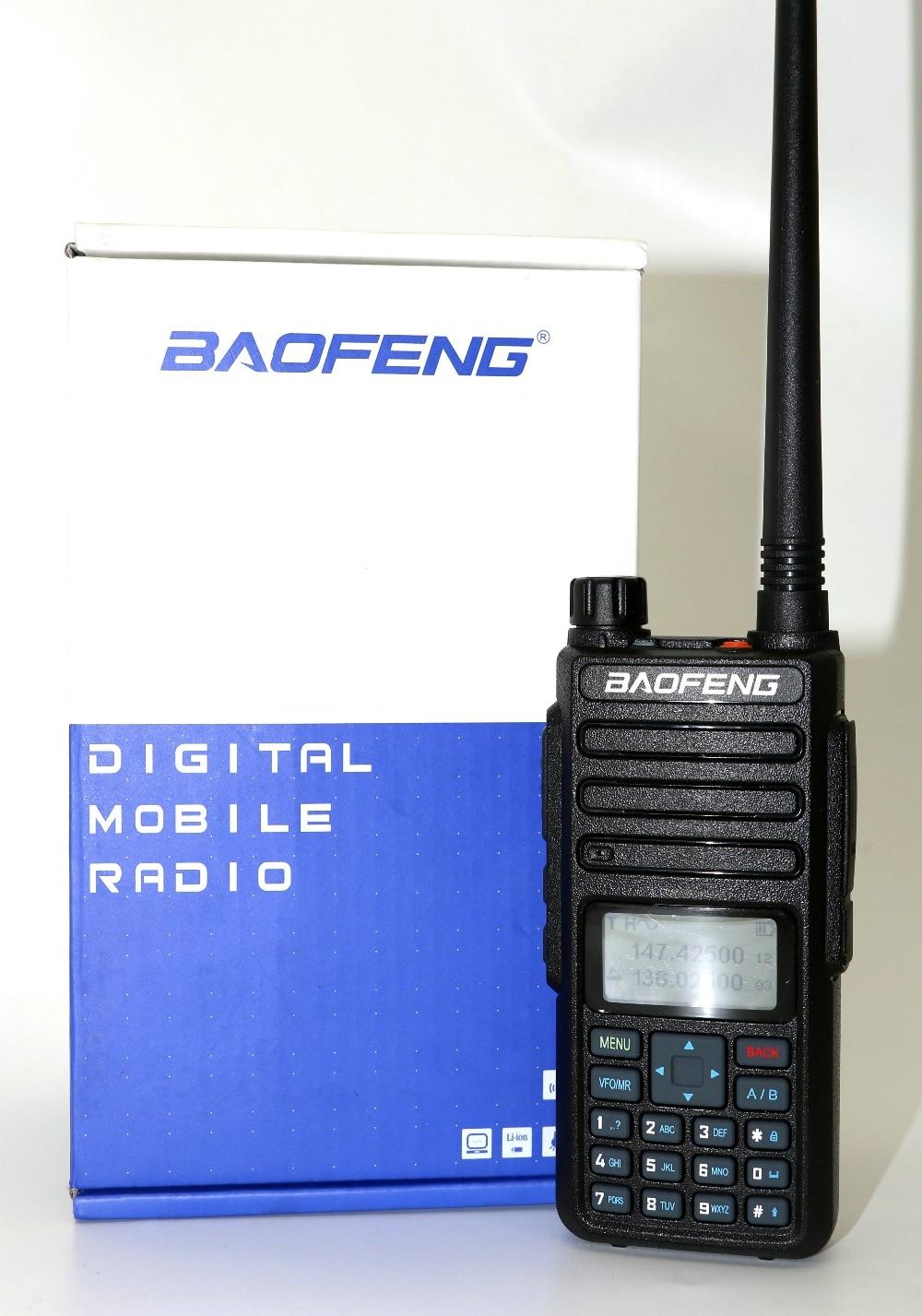 Baofeng Dual Slot di Tempo DM-180 Radio Portatile Dual Band 5 w 1024ch tier2 e tier1 DMR Walkie Taklie Digital Anolog dual mode