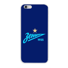 FC Zenit football Painting Case For Apple iPhone 5 5C 5S SE 6 6S 6 6S 7 8 10 X Plus Soft TPU Cell Phone Printed Cover Bag Skin(China)