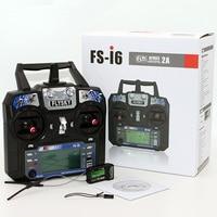 FlySky 6 Canali FS-I6 Controllo Radio con Ricevitore per RC Airplane Quadcopter Multirotor FPV Drone FS-IA6B Aliante ad ala Fissa