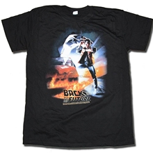 48a2616a7 Back To The Future T Shirt - Original Poster Design Official US Import Mens  Print T