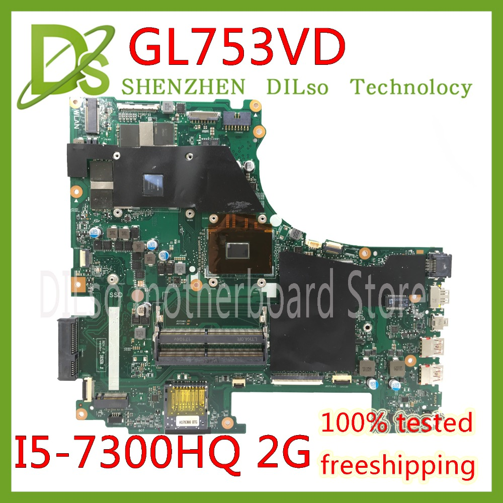 KEFU GL753VD For ASUS GL753VD laptop motherboard GTX1050M mainboard 4G video memory I5-7300HQ cpu Test work 100%!!! KEFU GL753VD For ASUS GL753VD laptop motherboard GTX1050M mainboard 4G video memory I5-7300HQ cpu Test work 100%!!!