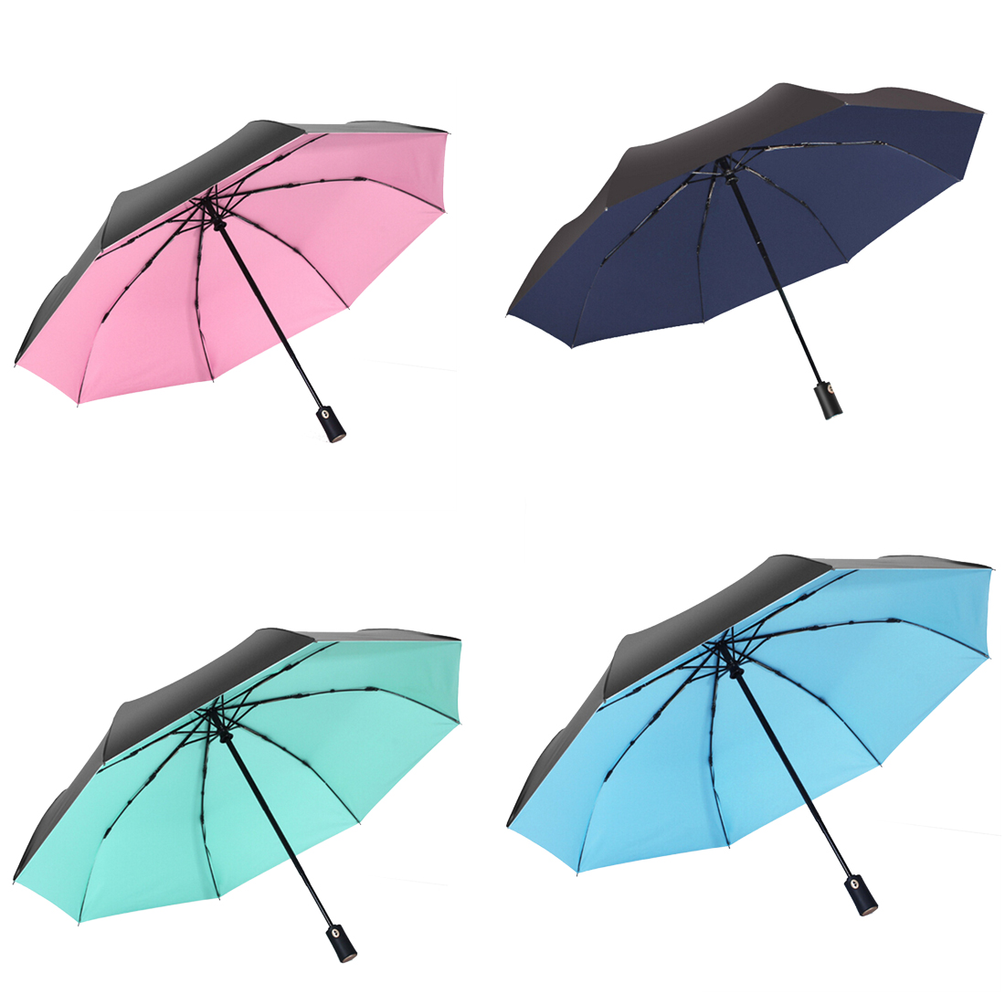 sun protection UV protection umbrella Automatic umbrella 24 inch increase mens umbrella