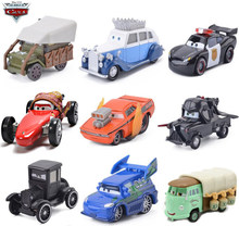 Rare Collection Disney Pixar Cars 2 3 Diecasts Toy Vehicles British Lightning McQueen Queen Guard Metal Model Car Toys Boy Gift(China)