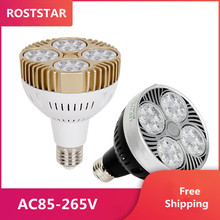 Wholesale price Free shipping E27 35W Osram PAR30 LED light AC85-265V input USA driving 20pcs/lot 3 years warranty цена