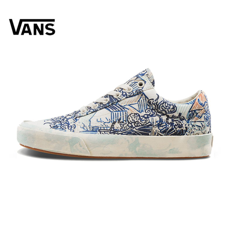Original New Arrival Vans Women Classic Old Skool Low-top Skateboarding Shoes Sneakers Canvas Sport Outdoor VN0A38G1UAX original new arrival van classic unisex skateboarding shoes old skool sport outdoor canvas comfortable sneakers vn000d3hw00