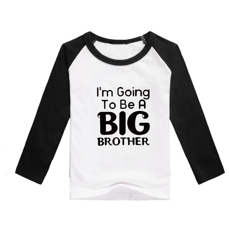 boys clothing t shirt child dress shirt long sleeve children shirts big brother