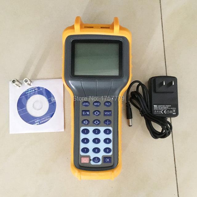 Neue RY S110D CATV Kabel TV Tester Handheld Analog Signal Level Meter DB Tester 5 870MHz